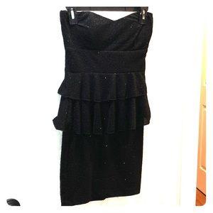 Strapless little black dress by Windsor